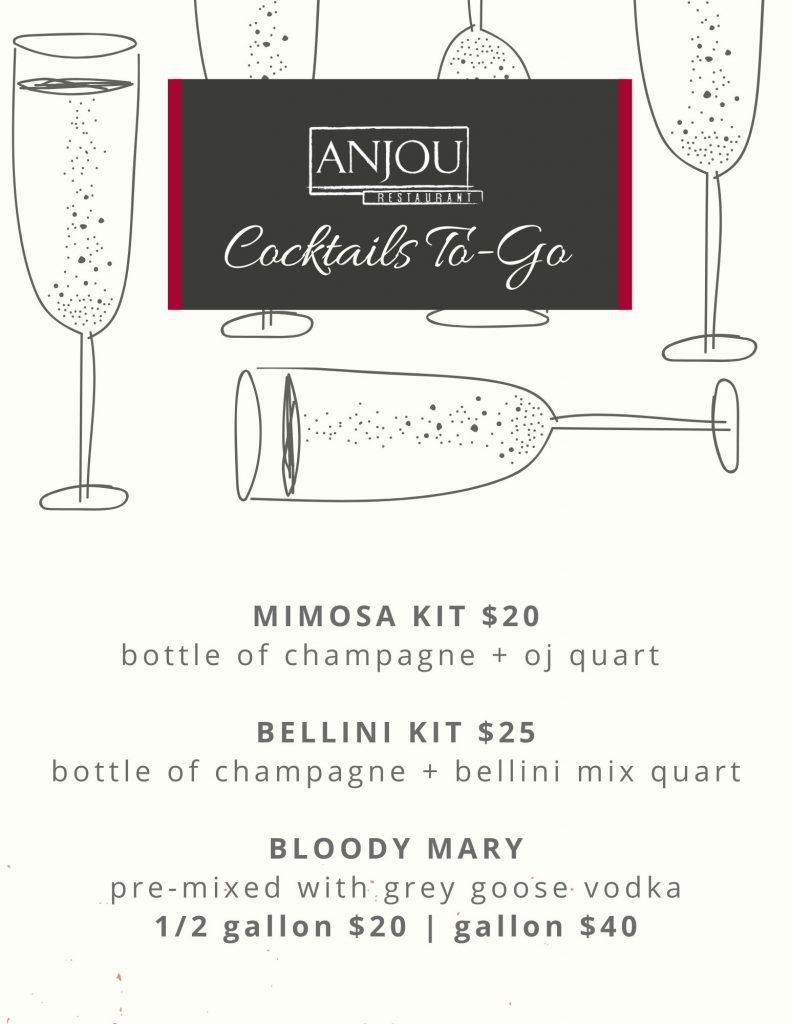 Anjou To-Go Drinks